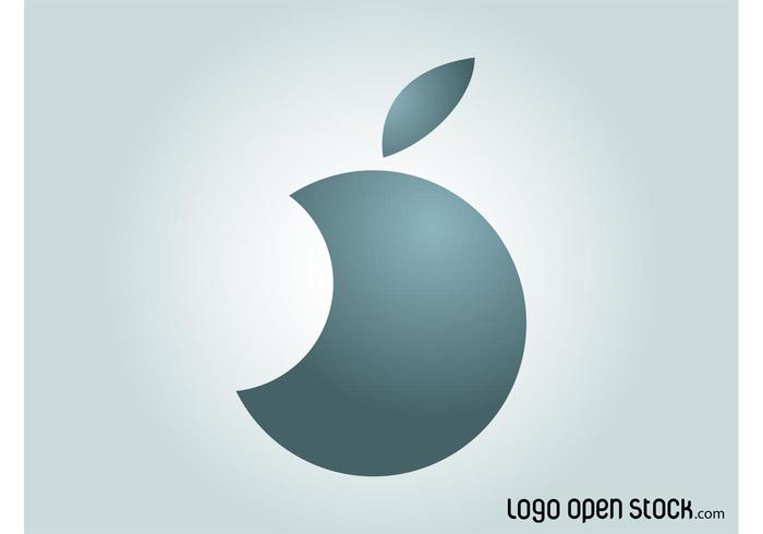 Cirkel Apple-logotypen