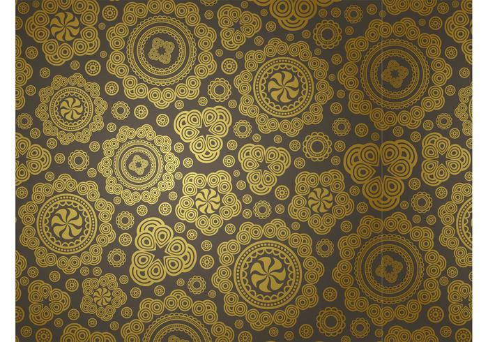 Golden Vector Pattern