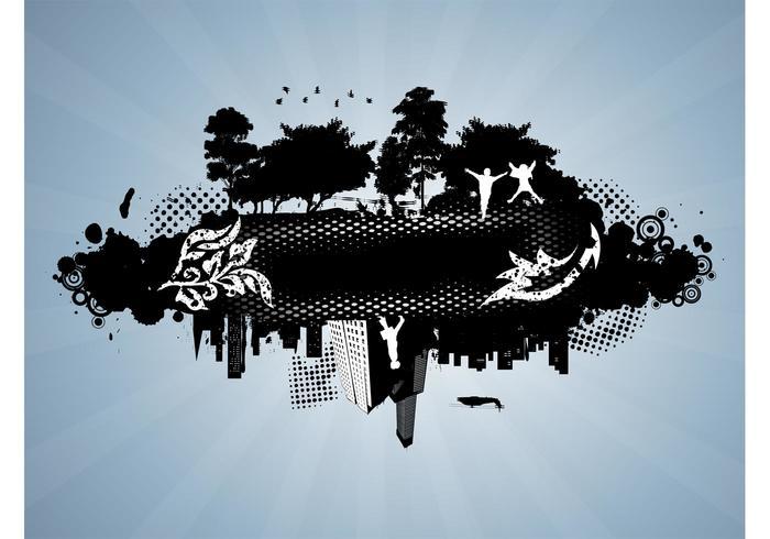Grunge Urban Vektor