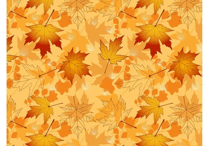 Vector Autumn Pattern