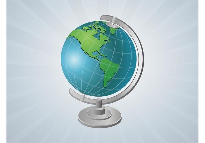 Vector Globe Gadget