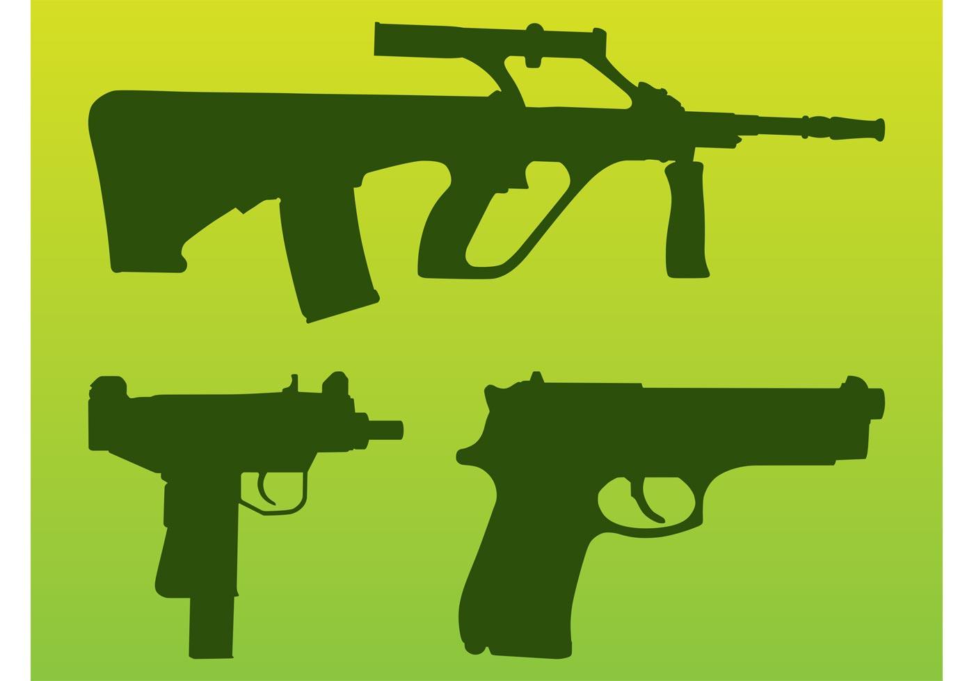Vector Guns Download Free Vector Art Stock Graphics