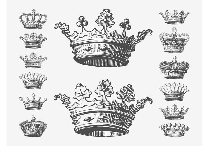 Crowns Drawings