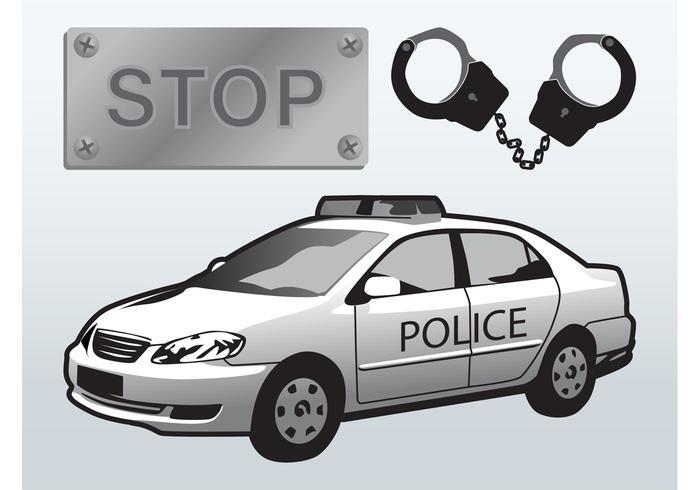 Police Arrest Vector