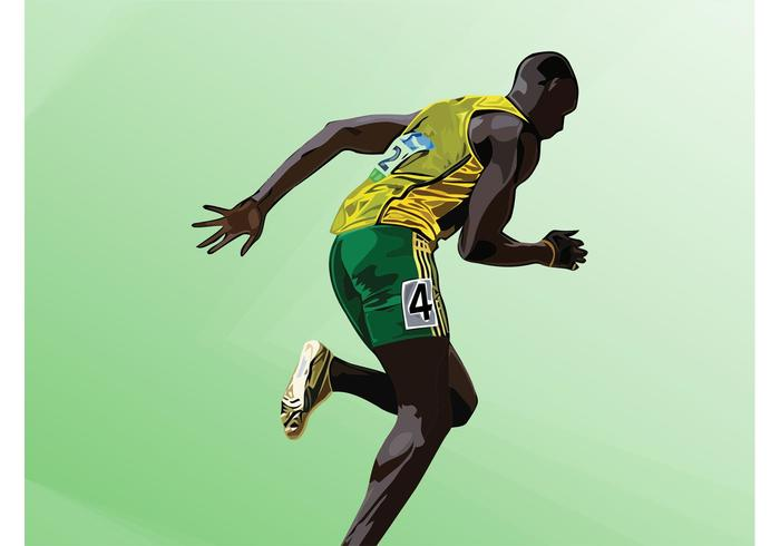 Usain Bolt Vector
