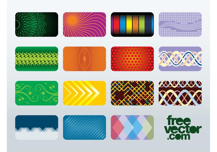 Free Business Cards Vectors