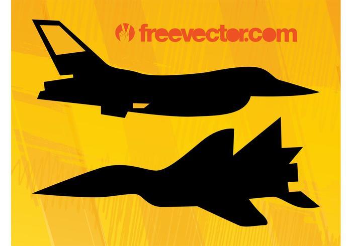 Military Planes Vectors