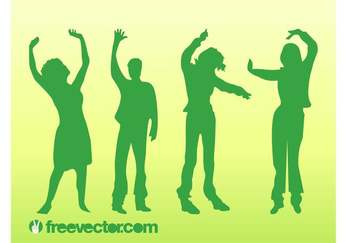 Dancing Vector People