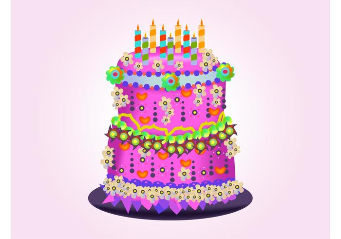 Birthday Cake Vectors 2906 Free Downloads