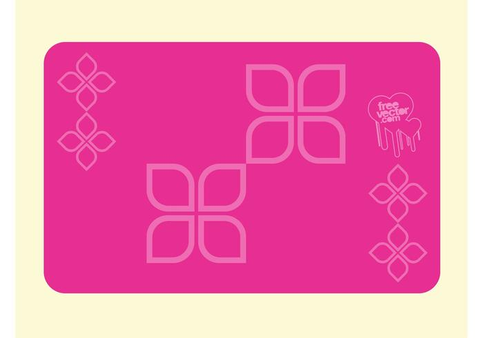 Pink business card free vector art 27979 free downloads pink business card design colourmoves