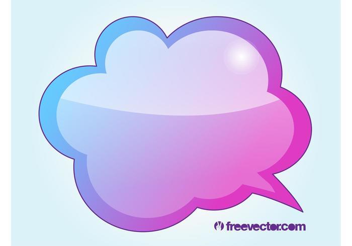 Cooler Sprachballon
