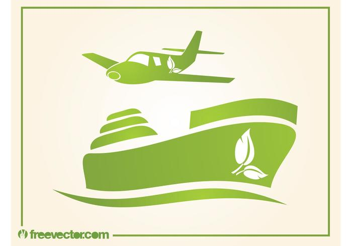 Eco Freight Icons