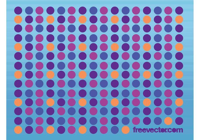 Dots Vector Background