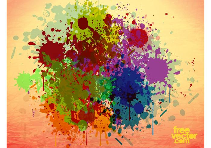 Grunge Paint Vector