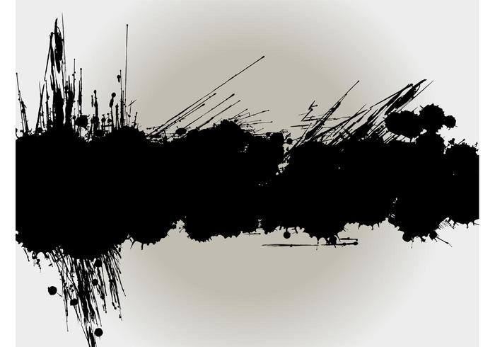 Splatter Background Design