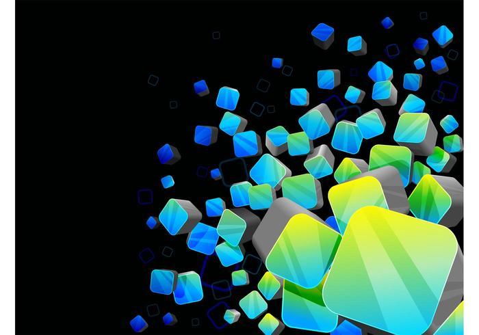 3D Vector Background