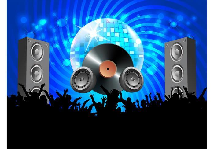 Vector Disco Party