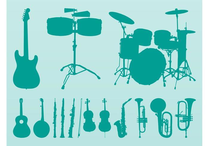 Musical Instruments Vectors