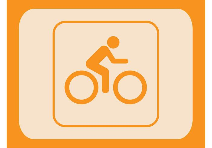 Biker Icon Vector