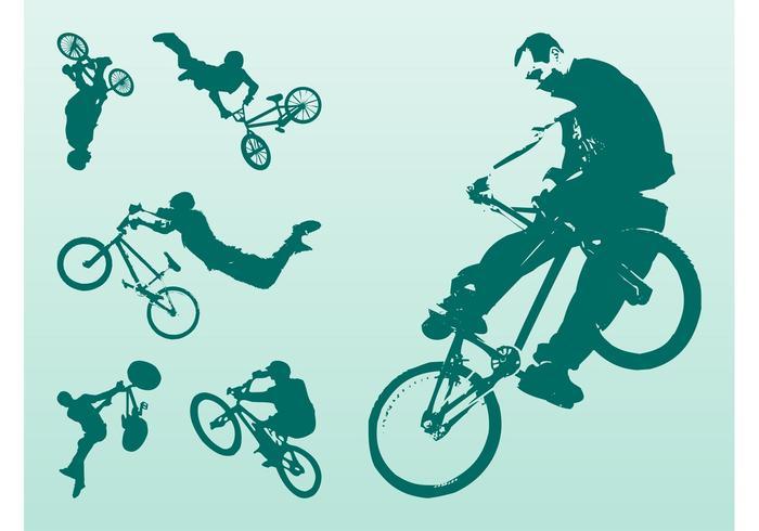 Extreme Bikers Vector