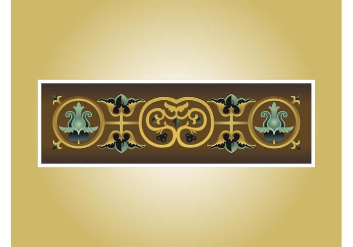 Antique Banner Vector