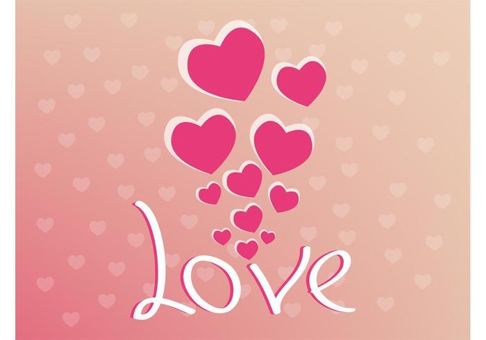 Valentine Vector Background