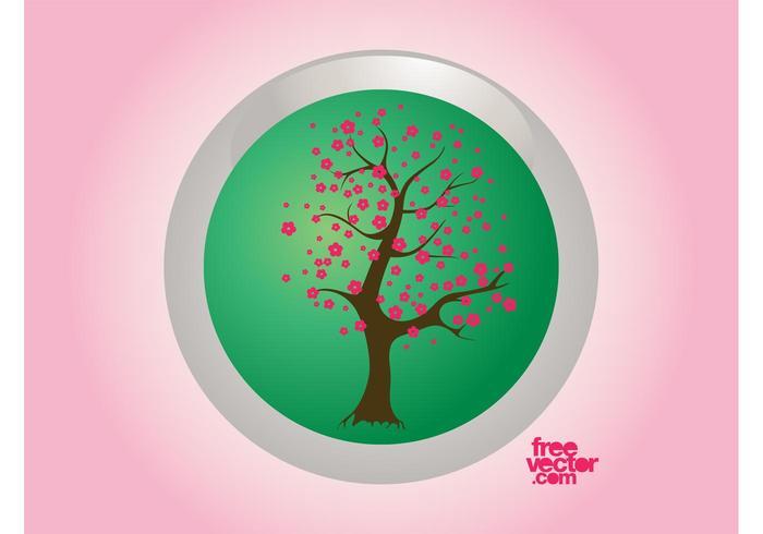 Spring Tree Badge