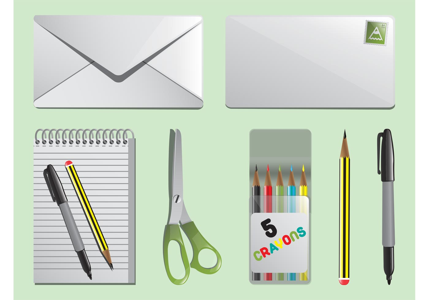 vector stationary download stationary download free vector logo