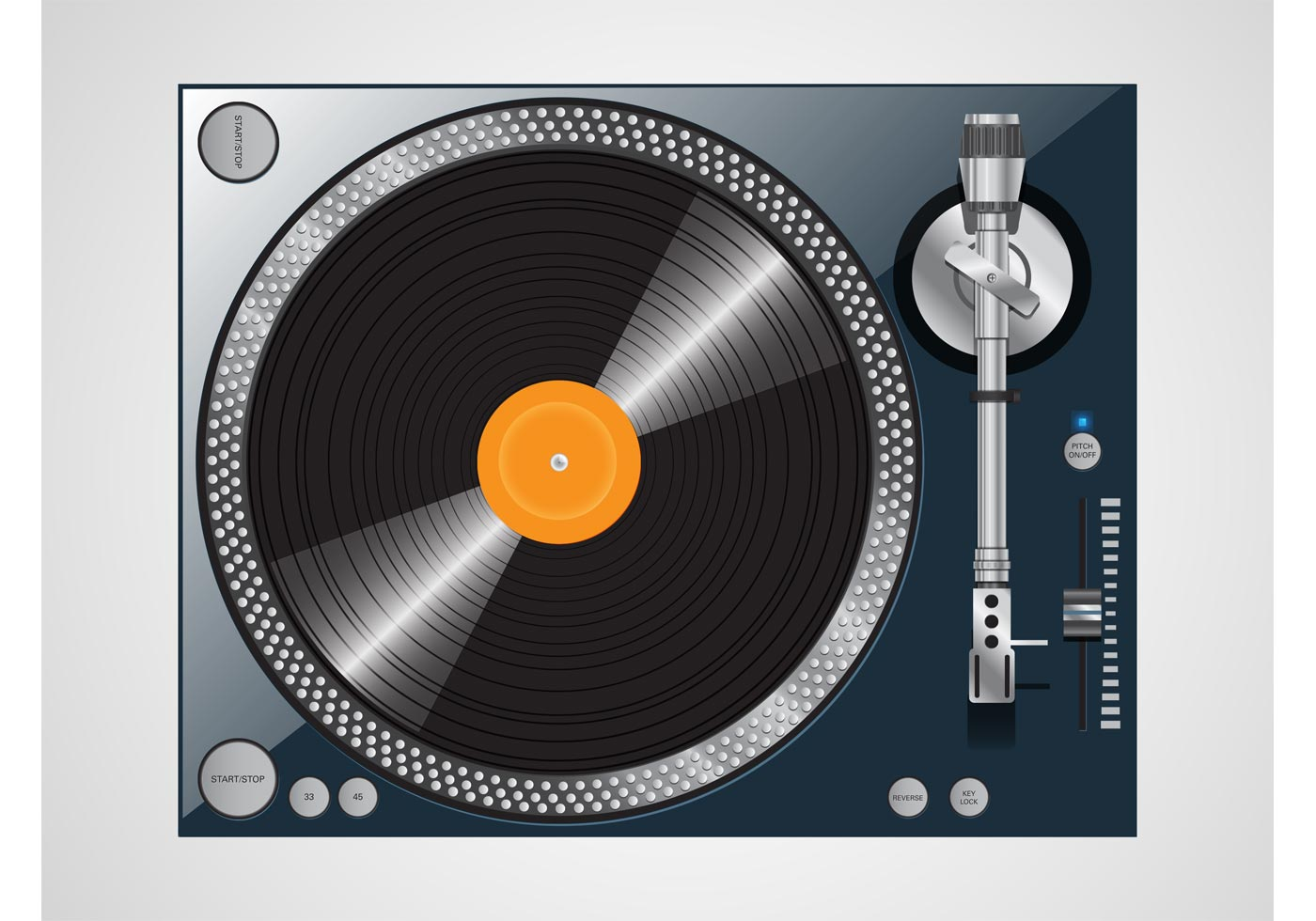 Vector Turntable Design Download Free Vector Art Stock