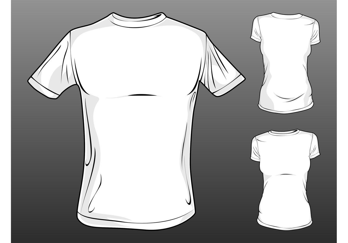 Cartoon t shirt free vector art 8979 free downloads for How to make t shirt art