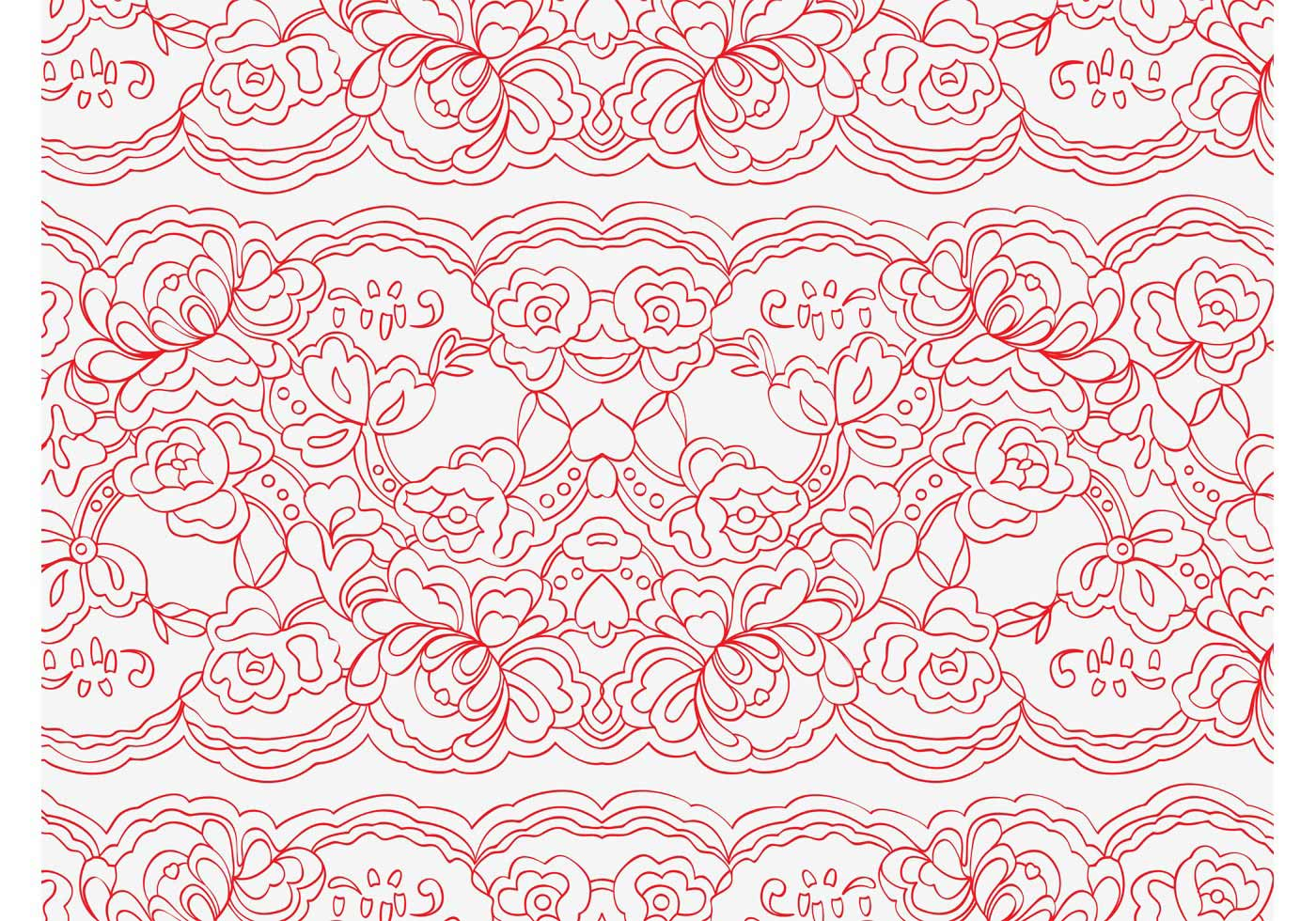 vector lace pattern download free vector art stock