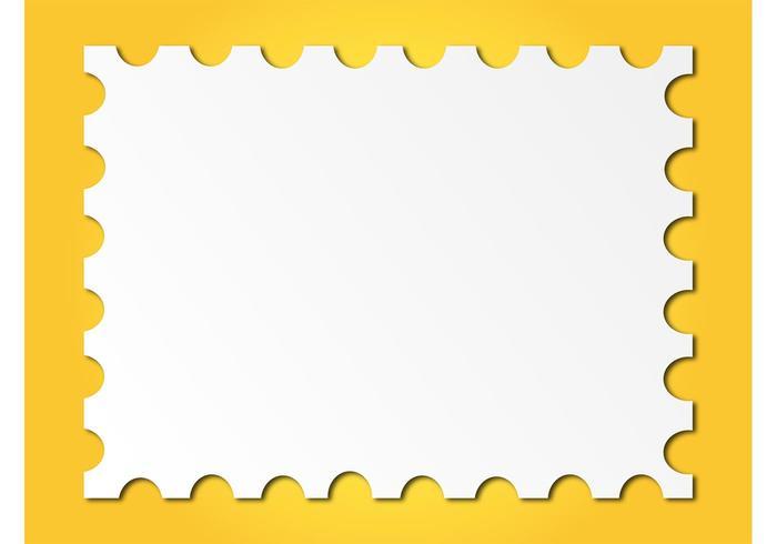 Marco del sello del poste - Descargue Gráficos y Vectores Gratis