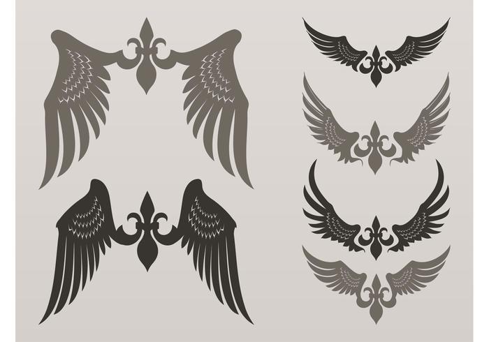 Heraldic Vector Wings