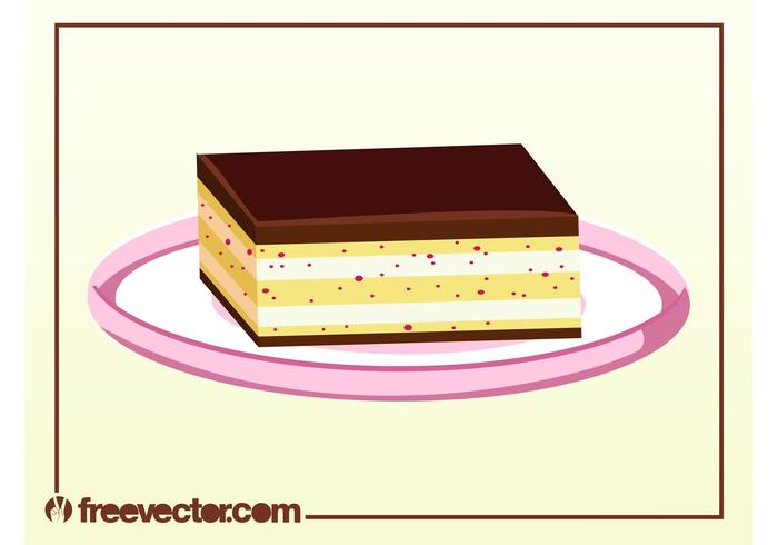 Chocolate Dessert Vector