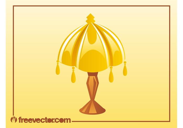 Antique Lamp Vector