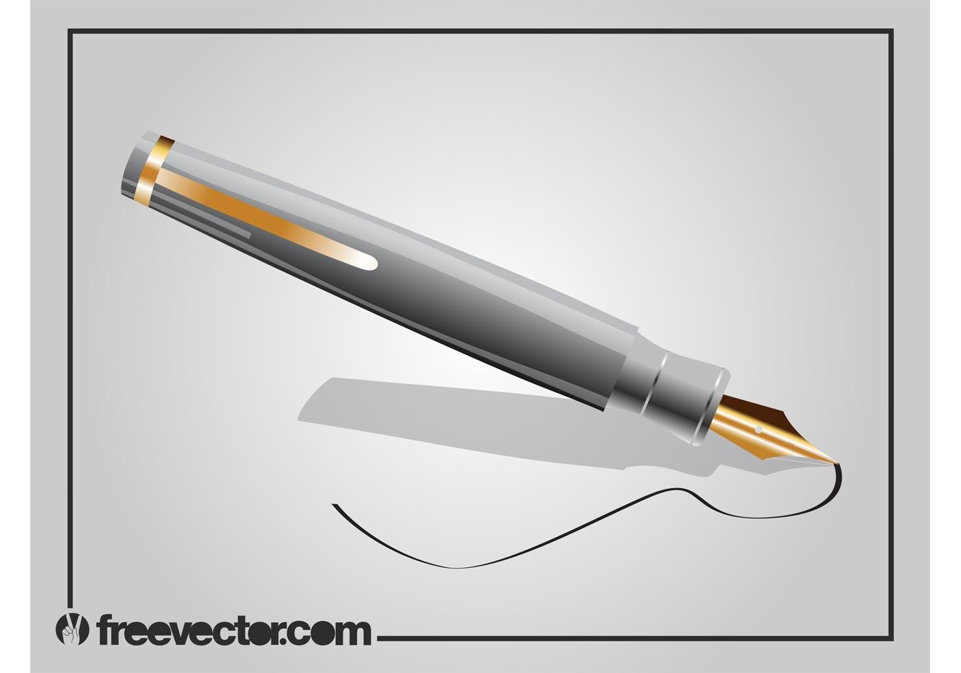 Pen Vector Download Free Vector Art Stock Graphics Amp Images