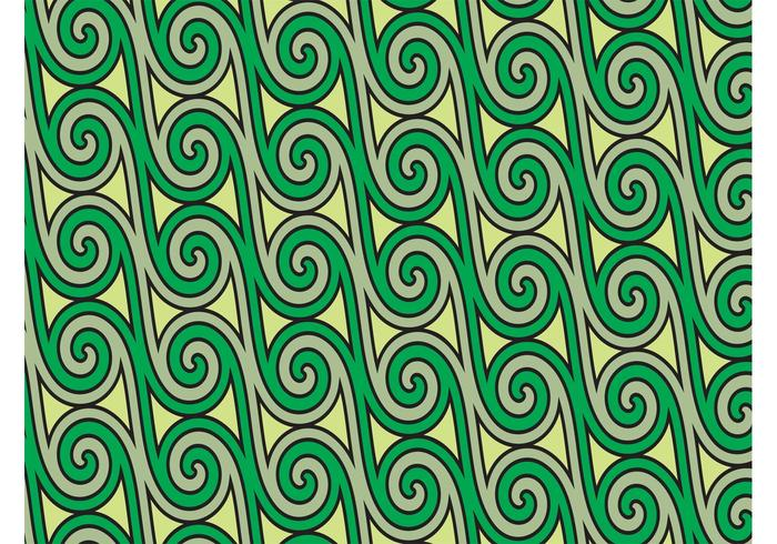 Swirls Pattern Vector