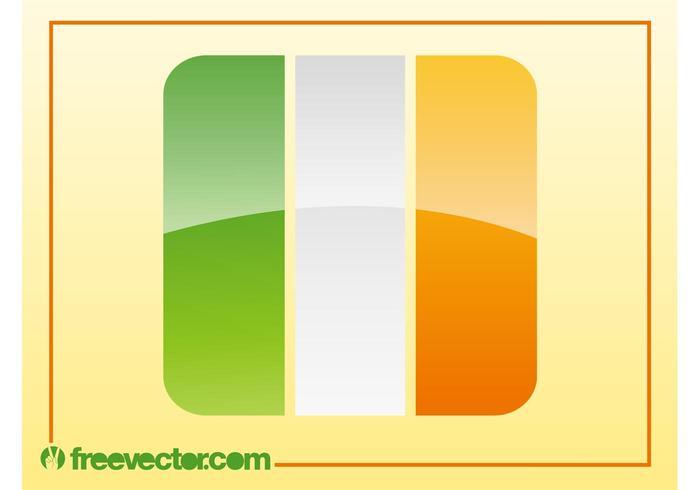 Irish Flag Vector