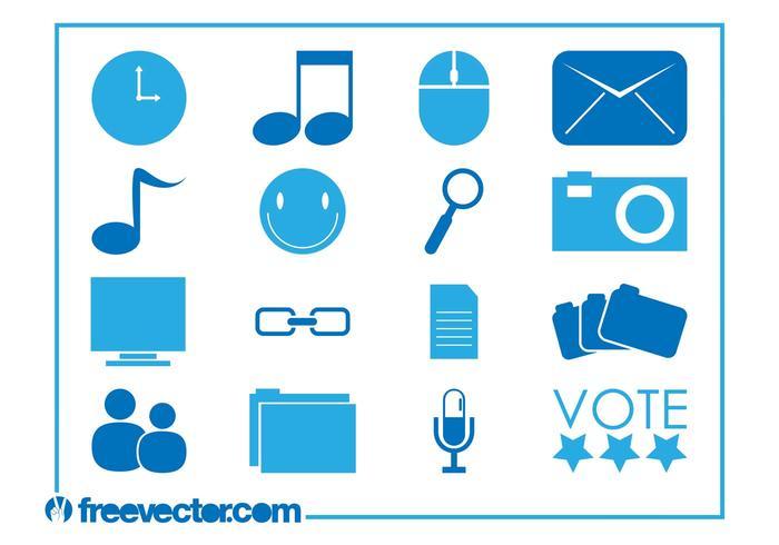 Tech Icons Vectors