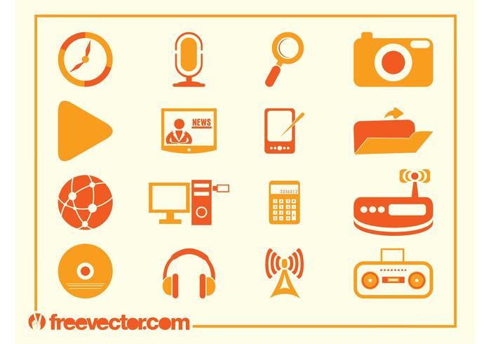 Tech Vector Icons