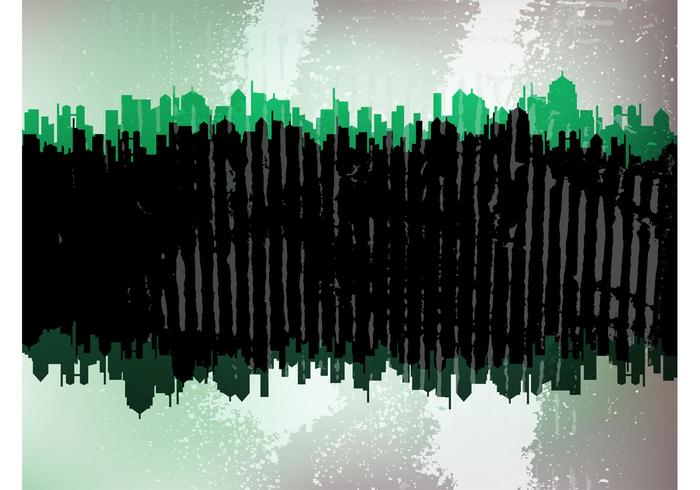 Stained City Background