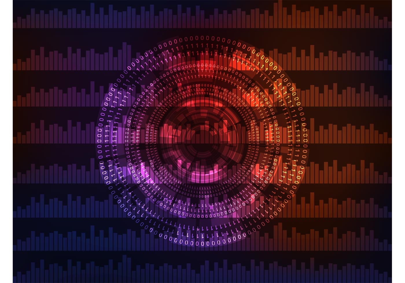 Binary background vector download free vector art stock - Binary background gif ...