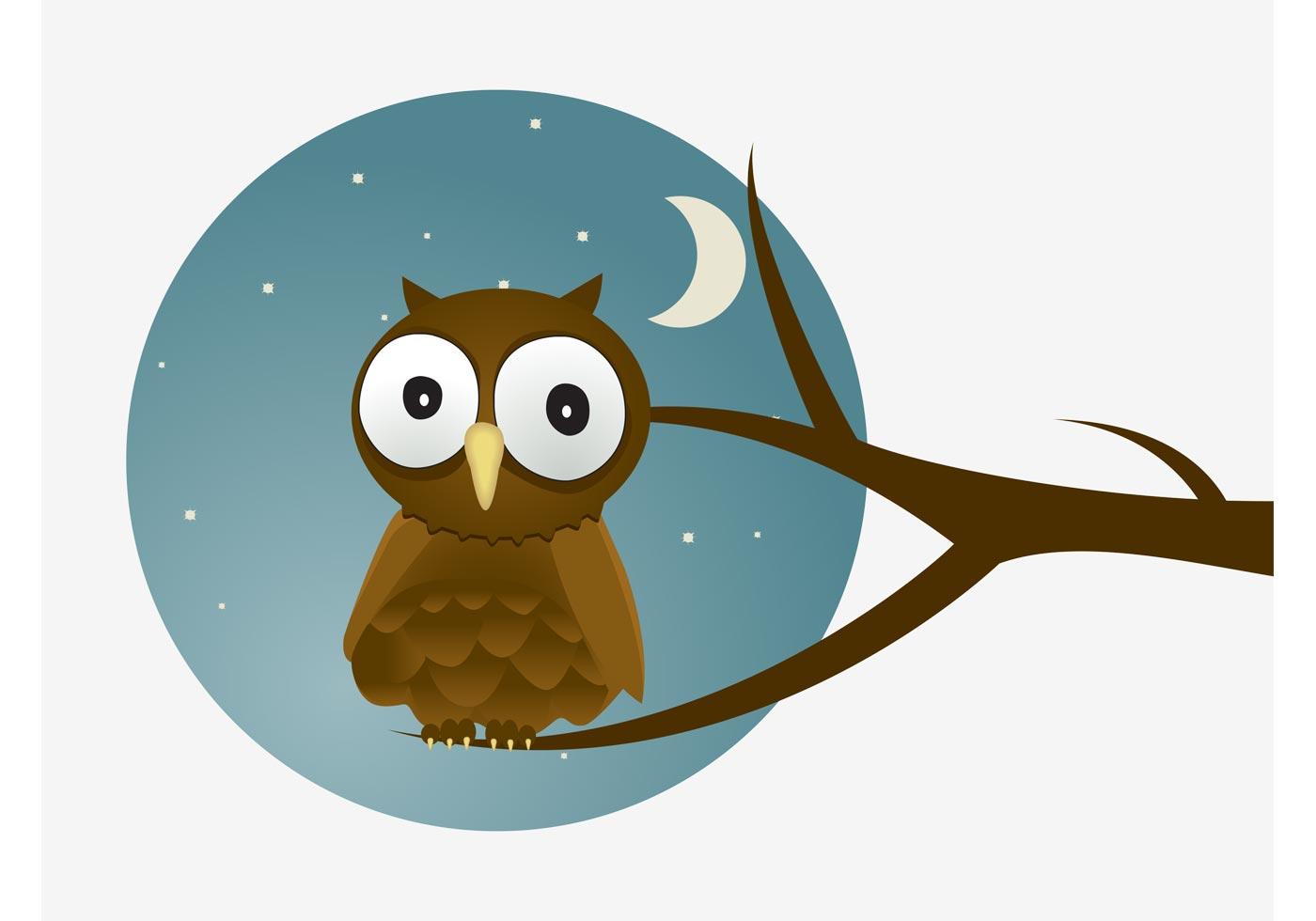 Cartoon Owl Vector - Download Free Vector Art, Stock ...