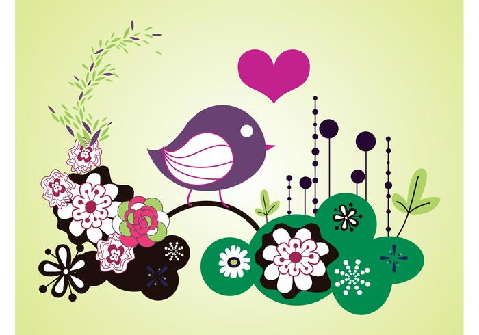 Bird Vector Graphics