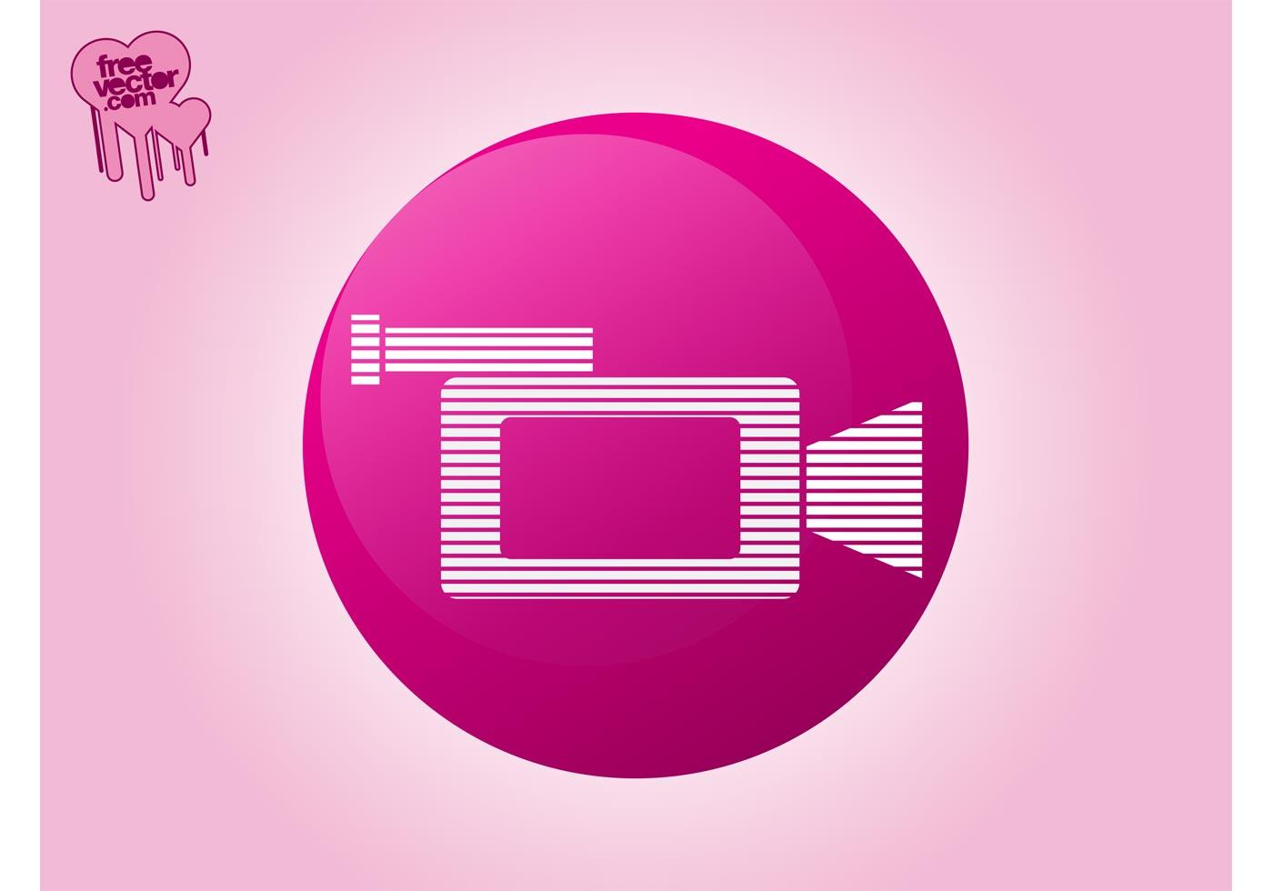 Video Camera Icon Download Free Vector Art Stock
