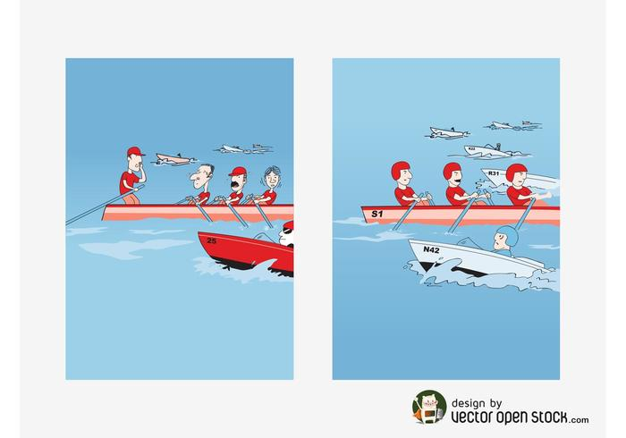 Rowing Vectors