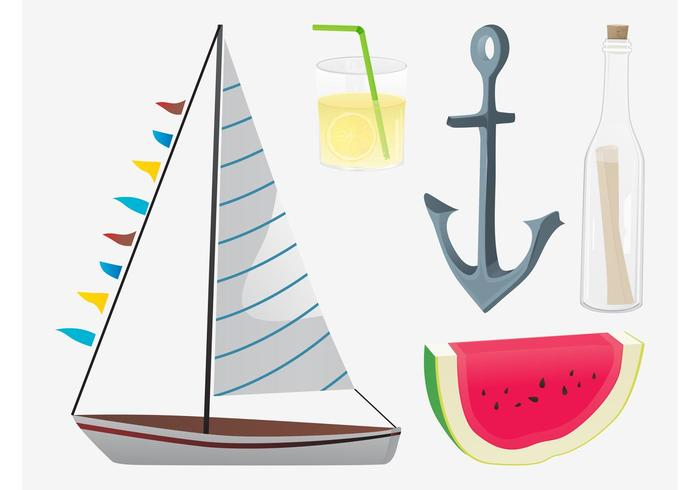 Summer Vector Graphics Pack