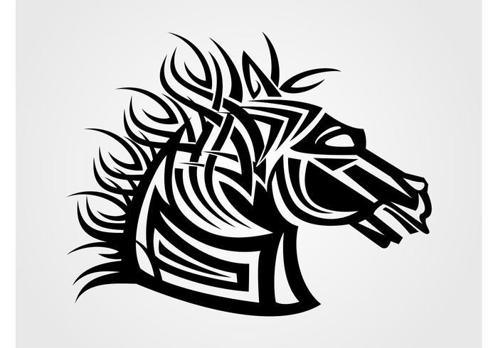 Vector Horse Head