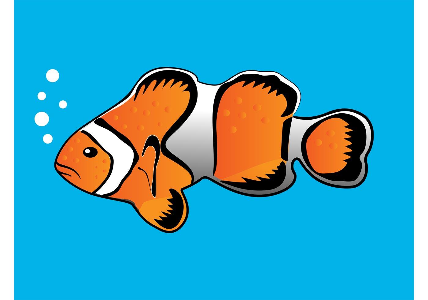 Clownfish Vector - Download Free Vector Art, Stock Graphics & Images