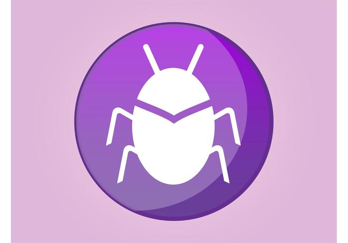 Bug Icon Vector